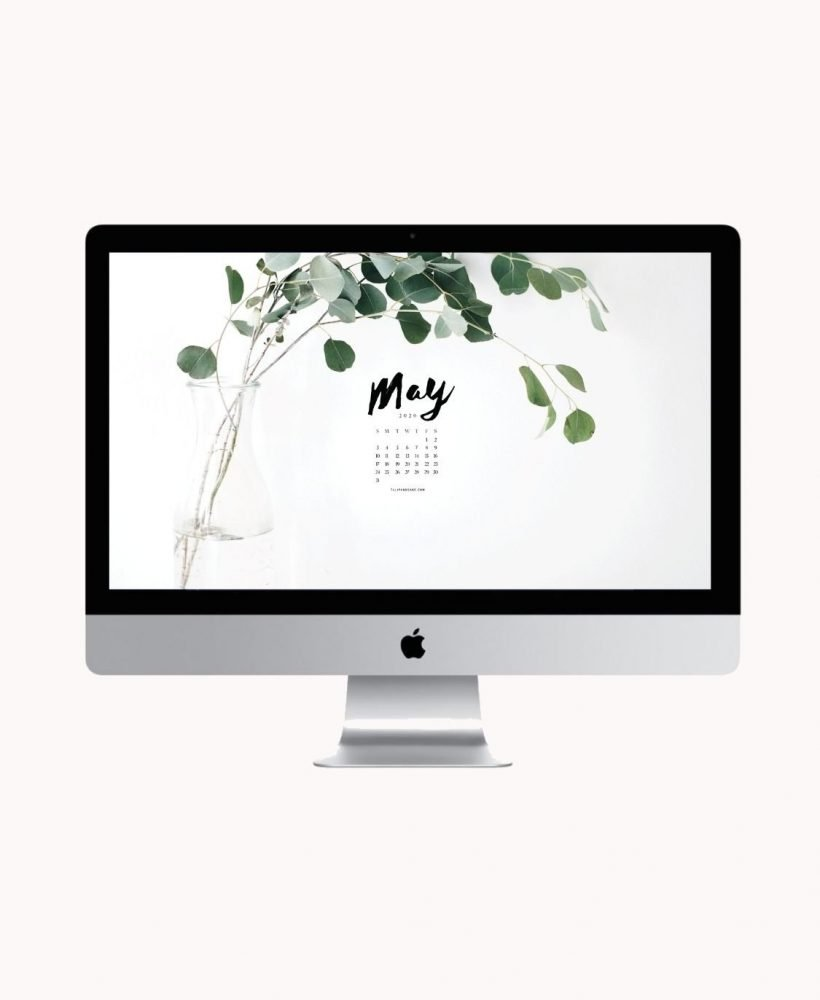 Are you looking to refresh your screens for next month? Grab our May 2020 Desktop Wallpaper! Did I mention it's a freebie?! #digitalwallpaper #desktopwallpaper #maywallpaper #freedownload #freebies