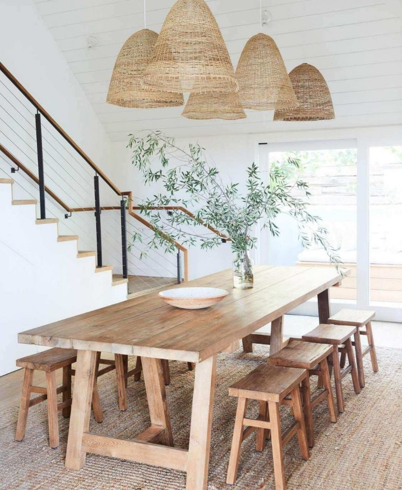 Source: malibuhomestore.com / Do you share our crush on these lovely lights? On the lookout for the perfect one? Check out our top wicker pendant light picks from Amazon! #tulipandsage #wickerpendantlight #amazonmusthaves #wickerlightfixture