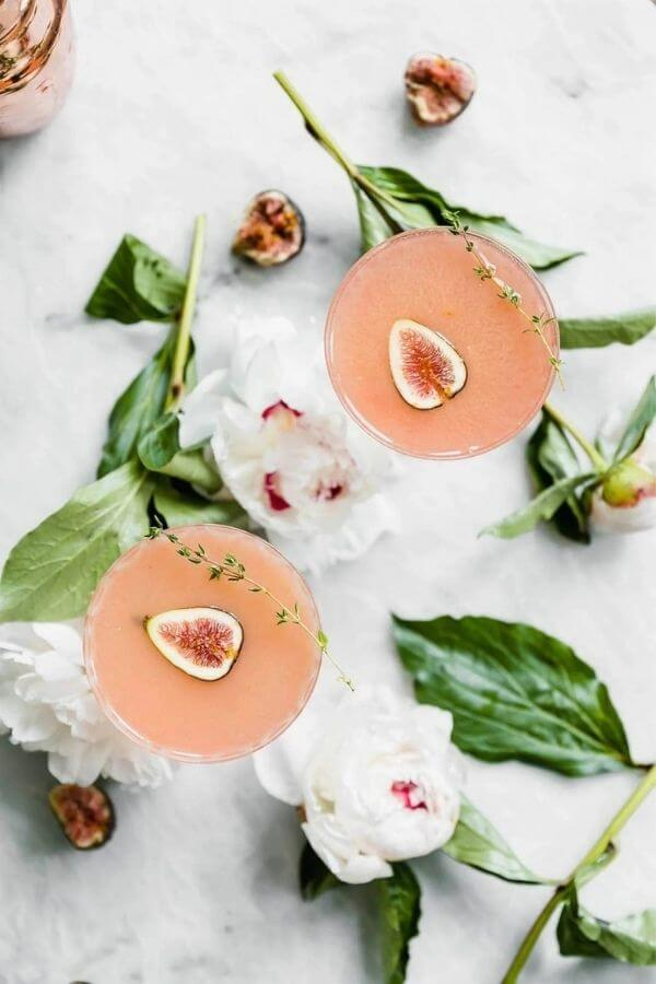 source: bromabakery.com/ Looking for some new Valentine's Day cocktail recipes? Here are 20+ Pink Valentines Cocktails that are perfect for that special day! And pretty too! #valentinesdaycocktails #pinkcocktails #valentinecocktailrecipes #pinkcocktailrecipes