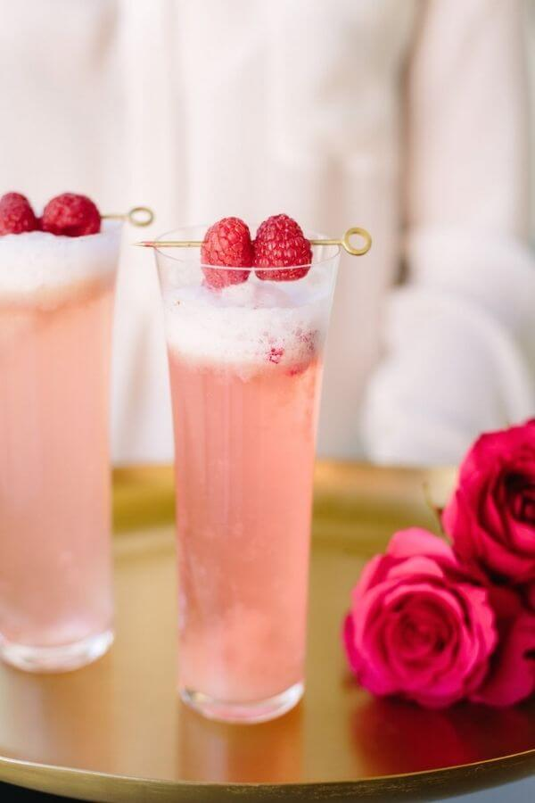 source: camillestyles.com/ Looking for some new Valentine's Day cocktail recipes? Here are 20+ Pink Valentines Cocktails that are perfect for that special day! And pretty too! #valentinesdaycocktails #pinkcocktails #valentinecocktailrecipes #pinkcocktailrecipes