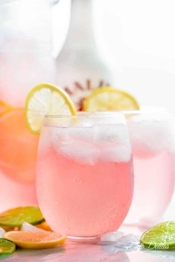 source: cafedelites.com/ Looking for some new Valentine's Day cocktail recipes? Here are 20+ Pink Valentines Cocktails that are perfect for that special day! And pretty too! #valentinesdaycocktails #pinkcocktails #valentinecocktailrecipes #pinkcocktailrecipes