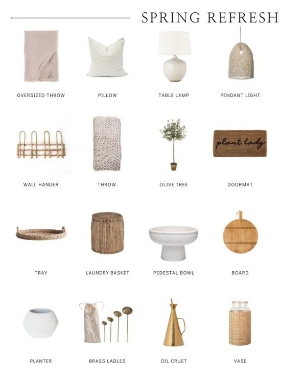 Happy Spring! Check out my favourite home decor finds from Pure Salt Interiors - the perfect little pieces for your spring refresh! #springhomedecor #homedecorideas #springrefreshhome #springrefreshdecor #tulipandsage