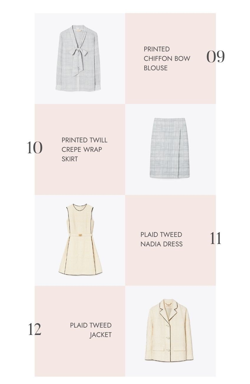 """The Tory Burch Semi-Annual Sale 2021 is happening right now!  Enjoy an extra 25% off all sale items with the promo code """"EXTRA."""" Here are my fave finds! #toryburch #toryburchsale #tulipandsage #wardrobestaples #favoritethingslist #semiannualsale #toryburchsemiannualsale"""