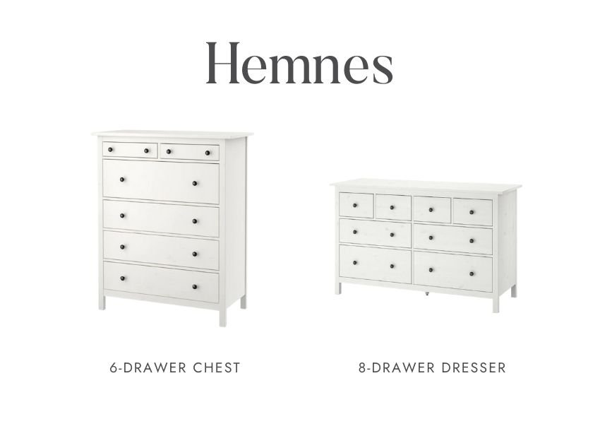 Who else is obsessed with IKEA dresser hacks?! Looking for ways to refresh your IKEA dresser or chest of drawers? Here are my absolute favourite hacks! #ikeahacks #ikeahackideas #ikeadresserhack #ikeadressermakeover #ikeachestofdrawershack #tulipandsage