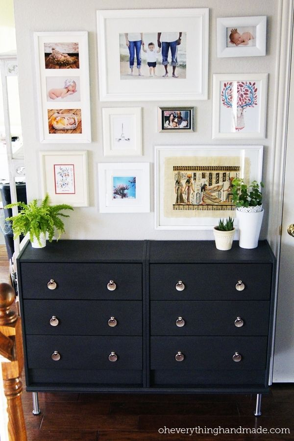 source - oheverythinghandmade.com/ Who else is obsessed with IKEA dresser hacks?! Looking for ways to refresh your IKEA dresser or chest of drawers? Here are my absolute favourite hacks! #ikeahacks #ikeahackideas #ikeadresserhack #ikeadressermakeover #ikeachestofdrawershack #tulipandsage
